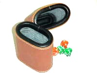 Leather Dice Cups, Oval Brown